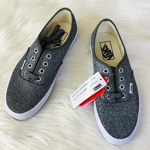 8486c9c1810436 VANS Authentic Glitter Skate Shoes